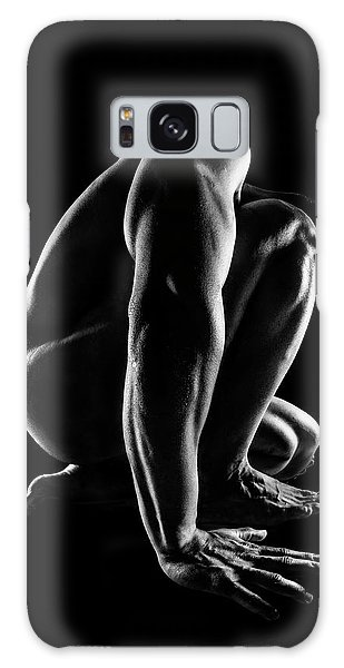 Sitting Nude Galaxy Case - Bodies by Jackson Carvalho