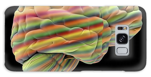 Brainstem Galaxy Case - Brain by Alfred Pasieka
