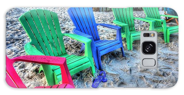 6 Chairs Galaxy Case by Michael Thomas