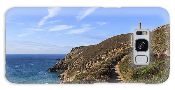 Chapel Porth Cornwall Galaxy Case