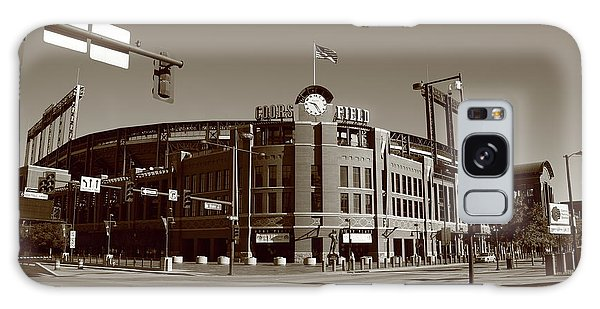 Coors Field - Colorado Rockies Galaxy Case by Frank Romeo