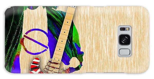 Eddie Van Halen Special Edition Galaxy Case by Marvin Blaine