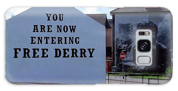 Free Derry Corner 3 Galaxy Case