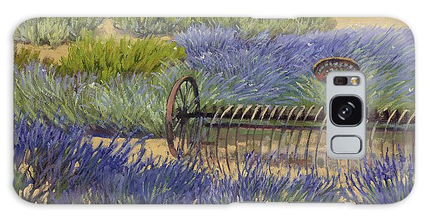 Edge Of The Lavender Field Galaxy Case