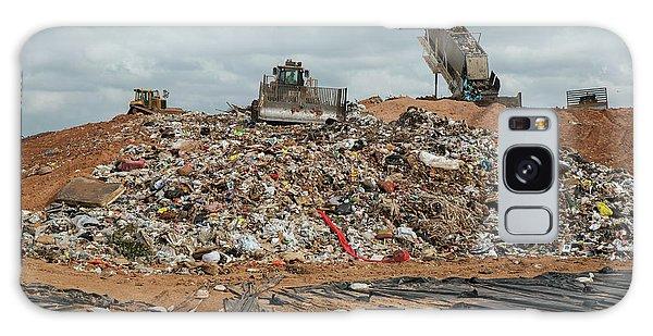 Rubbish Bin Galaxy Case - Landfill Waste Disposal Site by Peter Menzel