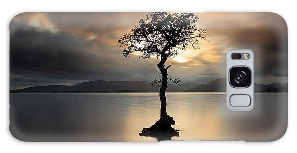Loch Lomond Sunset Galaxy Case
