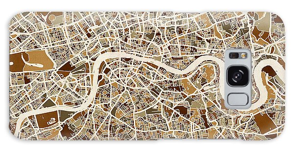 City Map Galaxy Case - London England Street Map by Michael Tompsett
