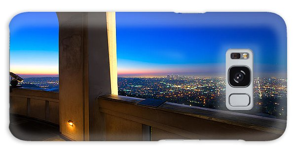 Los Angeles As Seen From The Griffith Observatory Galaxy Case by Celso Diniz
