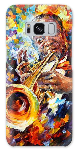 Abstract People Galaxy Case - Louis Armstrong by Leonid Afremov