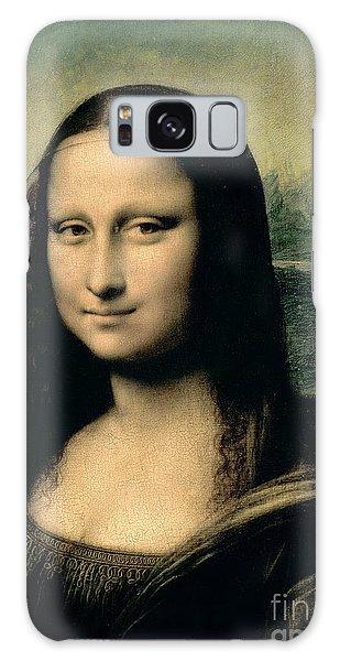 Galaxy Case - Mona Lisa by Leonardo Da Vinci