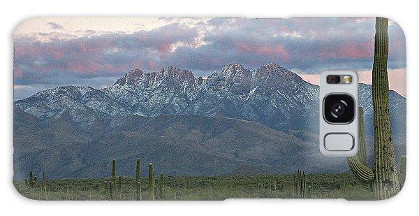 Four Peaks Sunset Snow Galaxy Case