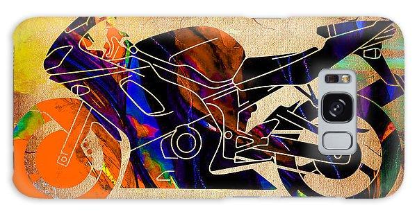 Ninja Motorcycle Art Galaxy Case by Marvin Blaine