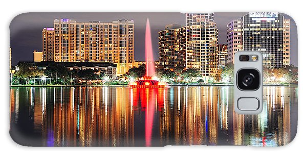 Orlando Downtown Dusk Galaxy Case