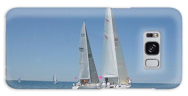 Sailboat Race Galaxy Case