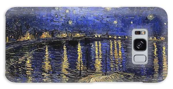 Starry Night Over The Rhone Galaxy Case