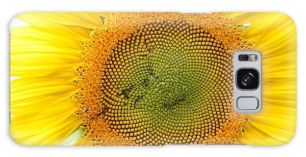 Sunflower Galaxy Case by Dacia Doroff
