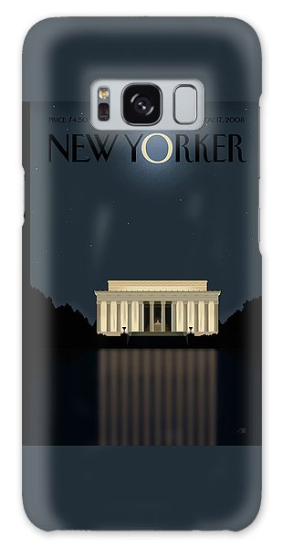 Reflections Galaxy Case - New Yorker November 17th, 2008 by Bob Staake