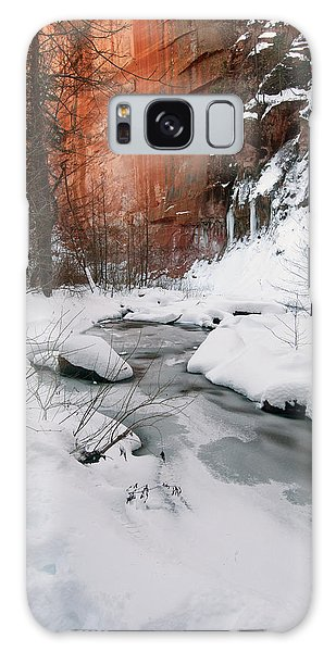 16x20 Canvas - West Fork Snow Galaxy Case
