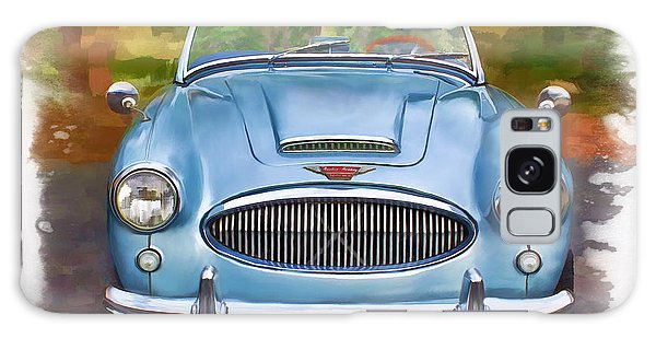 Galaxy Case featuring the mixed media 62 Austin Healy by Deborah Boyd