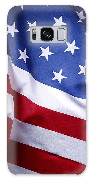 American Flag 50 Galaxy Case
