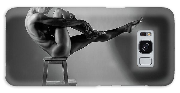 Sitting Nude Galaxy Case - Bodyscape by Anton Belovodchenko