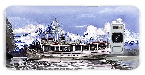 Motor Yacht Galaxy Case -  Alaska Yachting by Jack Pumphrey