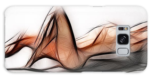 6524 Fractal Nude 1 To 3 Ratio Abstract Signed Chris Maher Galaxy Case