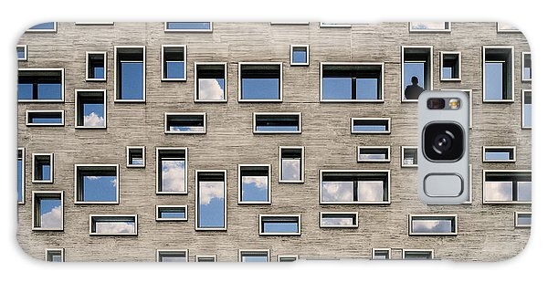 Facade Galaxy Case - 68 Windows And 1 Soul by Luc Vangindertael (lagrange)