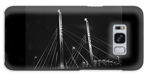 6th Street Bridge Black And White Galaxy Case