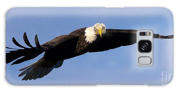Bald Eagle Galaxy Case by Ursula Lawrence