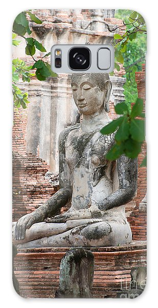 Galaxy Case featuring the photograph Buddha Statue by Yew Kwang