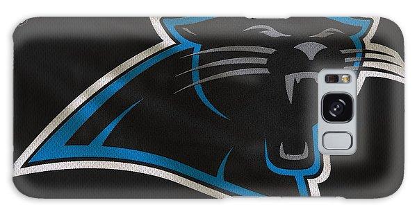 Panther Galaxy S8 Case - Carolina Panthers Uniform by Joe Hamilton