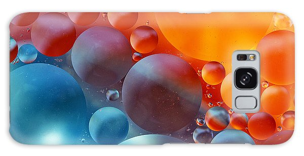 Colorful Oil Drops On A Water Surface Galaxy Case by Odon Czintos