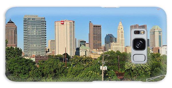 Columbus Ohio Skyline Photo Galaxy Case