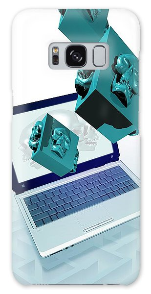 Scientific Illustration Galaxy Case - Data Security by Victor Habbick Visions