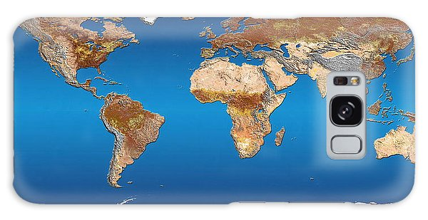 Earth From Space Galaxy Case - Earth by Dynamic Earth Imaging/science Photo Library