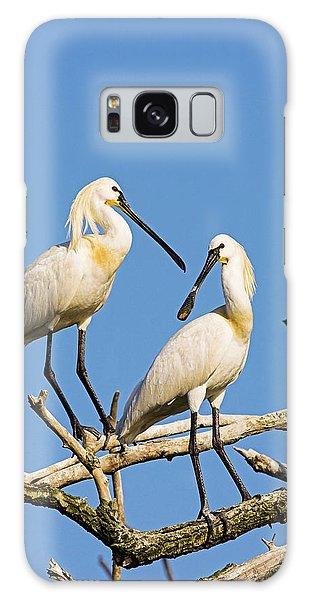 Eurasian Spoonbill Or Common Spoonbill Galaxy S8 Case