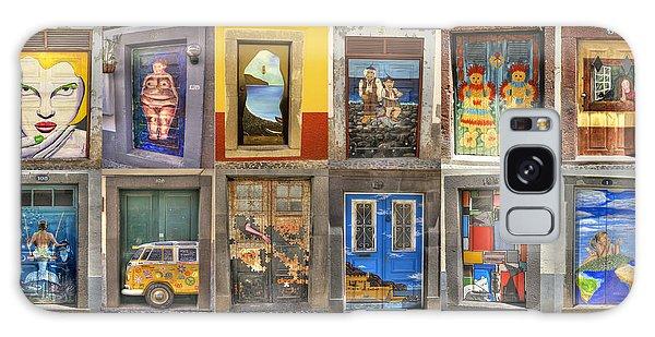 Funchal Door Art Galaxy Case