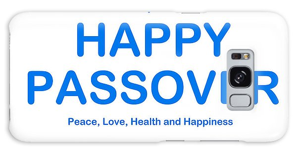 Happy Passover Galaxy Case