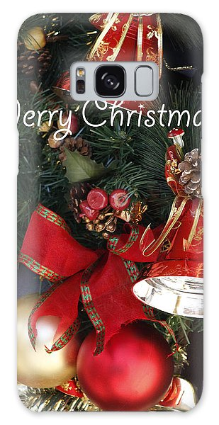 Merry Christmas Galaxy Case by Ivete Basso Photography