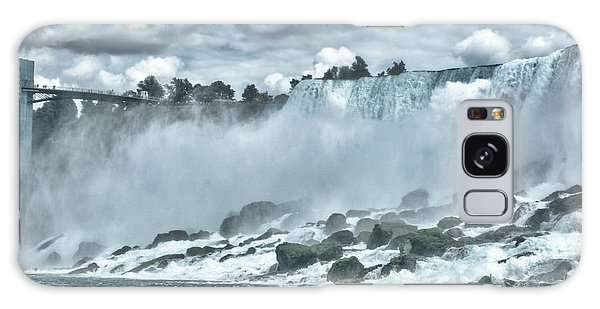 Niagara Falls Galaxy Case by Andre Faubert