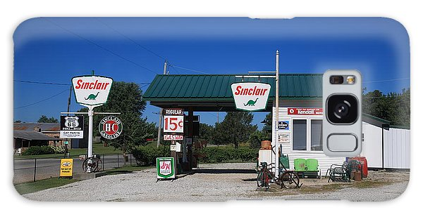 Route 66 Sinclair Station Galaxy Case