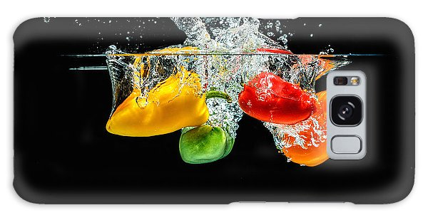 Splashing Paprika Galaxy Case