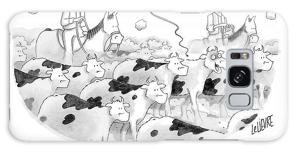 Whip Galaxy Case - Oh God, Yes!  I've Been A Bad Cow!  Such A Bad by Glen Le Lievre