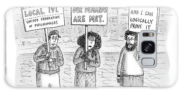 Philosopher Galaxy Case - New Yorker December 3rd, 2007 by Roz Chast