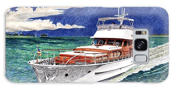 Motor Yacht Galaxy Case - 72 Foot Fedship Yacht by Jack Pumphrey