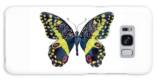 73 Citrus Butterfly Galaxy Case