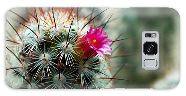734a Tubular Cactus Flower Galaxy Case by NightVisions