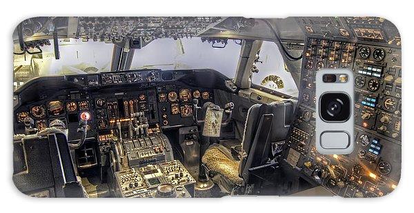747 Cockpit Galaxy Case