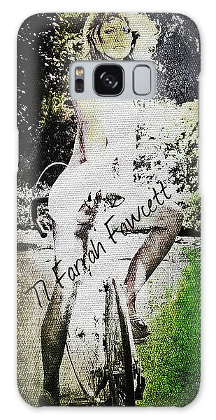 '77 Farrah Fawcett Galaxy Case by Absinthe Art By Michelle LeAnn Scott